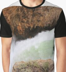 Fall With the Water Graphic T-Shirt