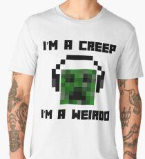 Minecraft Creeper Radiohead Parody Men's Premium T-Shirt
