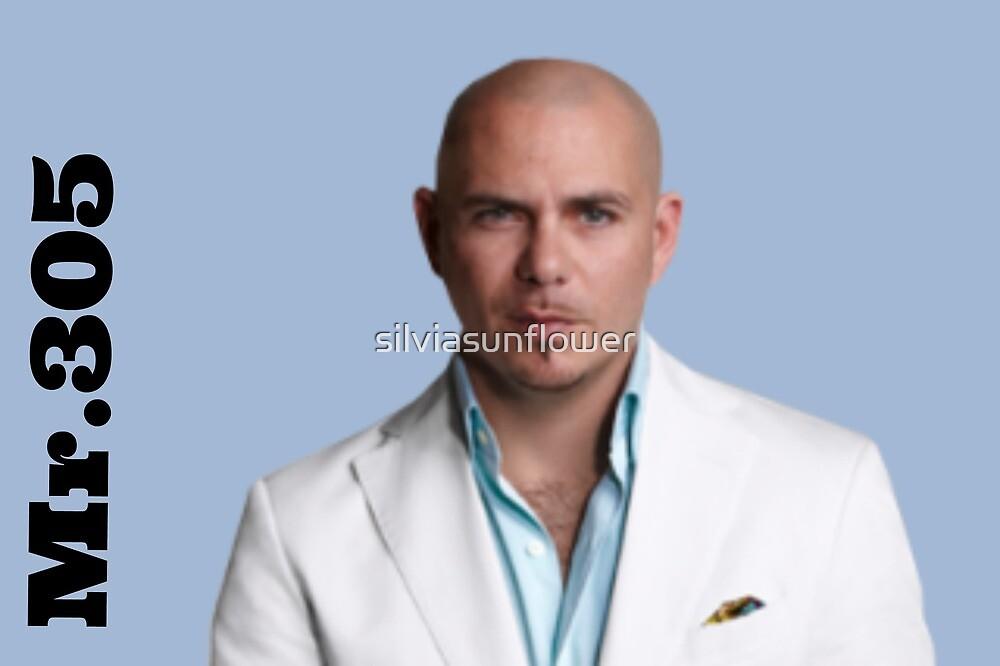 Pitbull. Mr. 305.  by silviasunflower