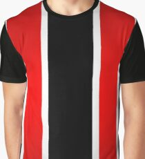Thick stripes Graphic T-Shirt