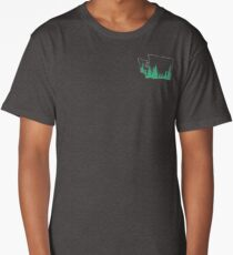 Evergreen State Outline Long T-Shirt