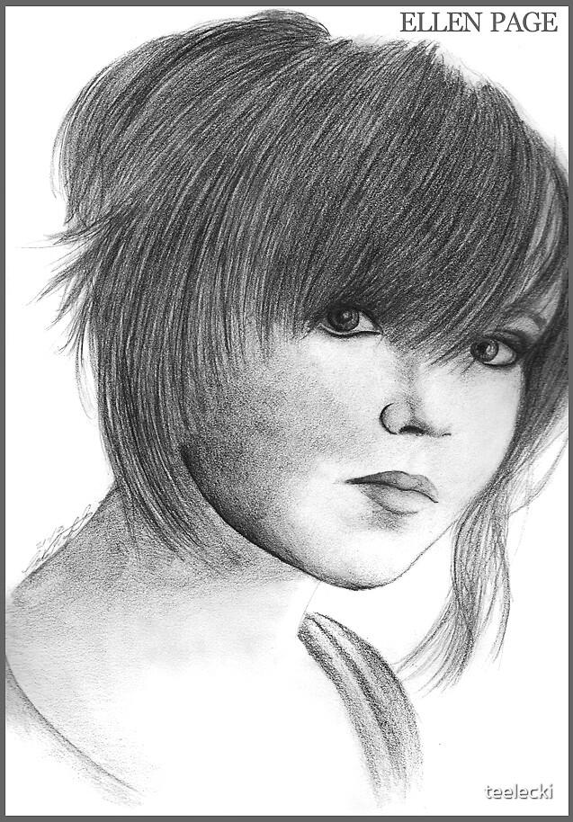 Ellen Page by teelecki