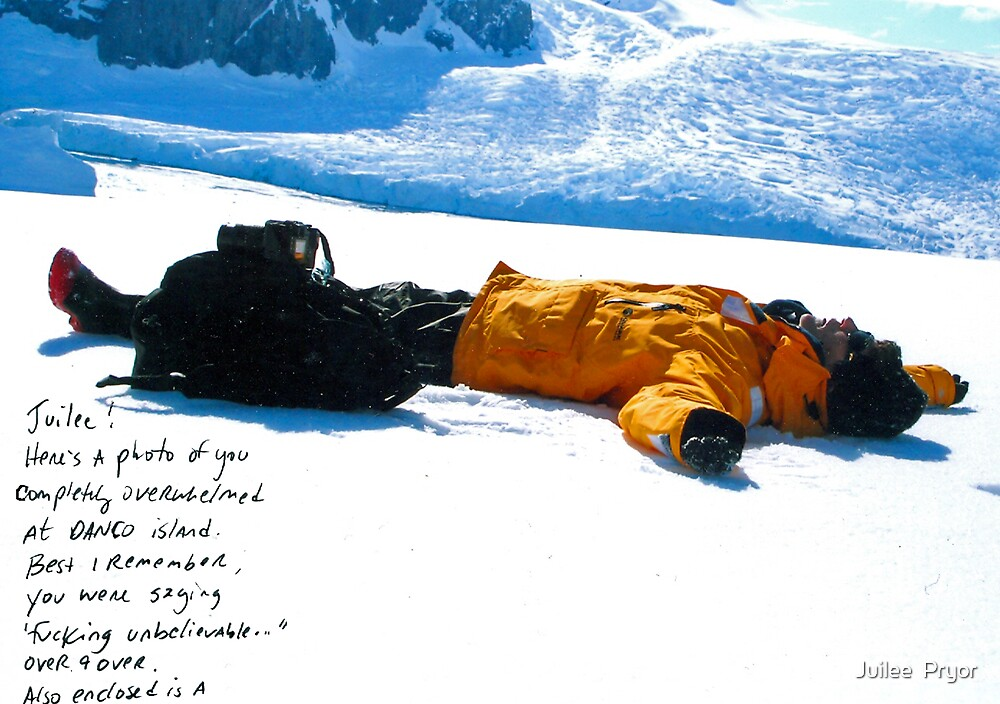 another point of view....Antarctica by Juilee  Pryor