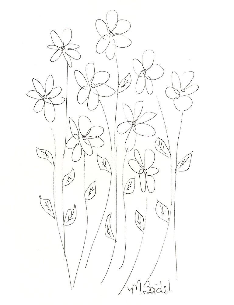 Flower 3 by Megseidel
