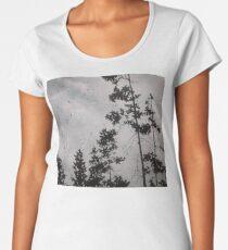 Acrylic Rainy Day Women's Premium T-Shirt