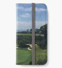 Newport Beach Golf Course iPhone Wallet