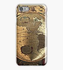 Old Map iPhone Case/Skin