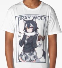 Gray wolf Long T-Shirt