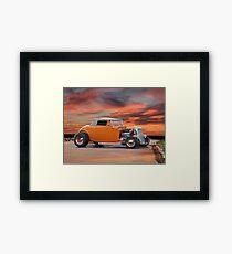 1934 Ford Cabriolet Framed Print