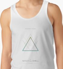 Ghost in the Shell, original design Camiseta de tirantes