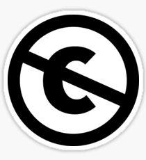 public domain Sticker