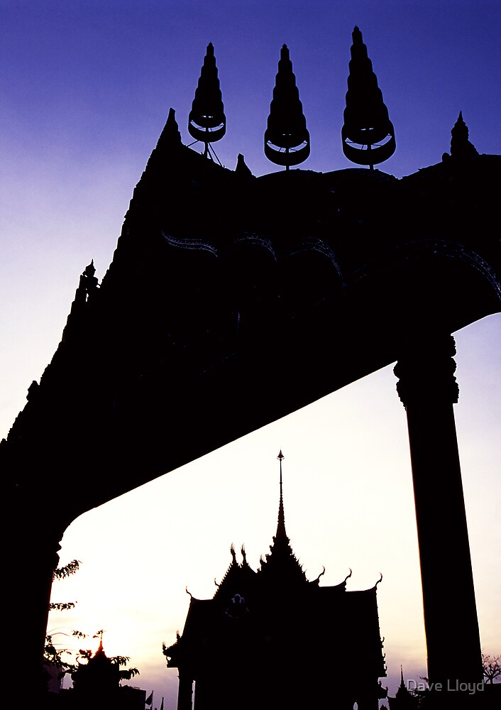 Temple Gate by Dave Lloyd