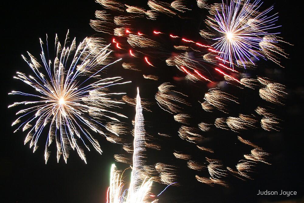 4th of July Fireworks by Judson Joyce