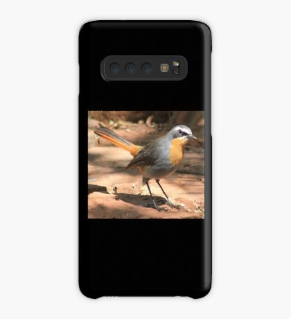 Cape Robin giving me the eye Case/Skin for Samsung Galaxy