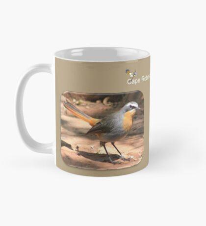 Cape Robin giving me the eye Mug