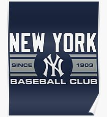 New York Yankees Baseball Club Starter Series Poster