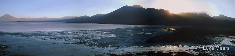 Laguna Colorada Panorama by Luke Meers