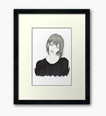 •Haku• Framed Print