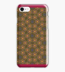 Flowers of Life Born to Fire iPhone Case/Skin