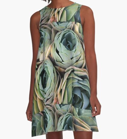Tightly packed A-Line Dress