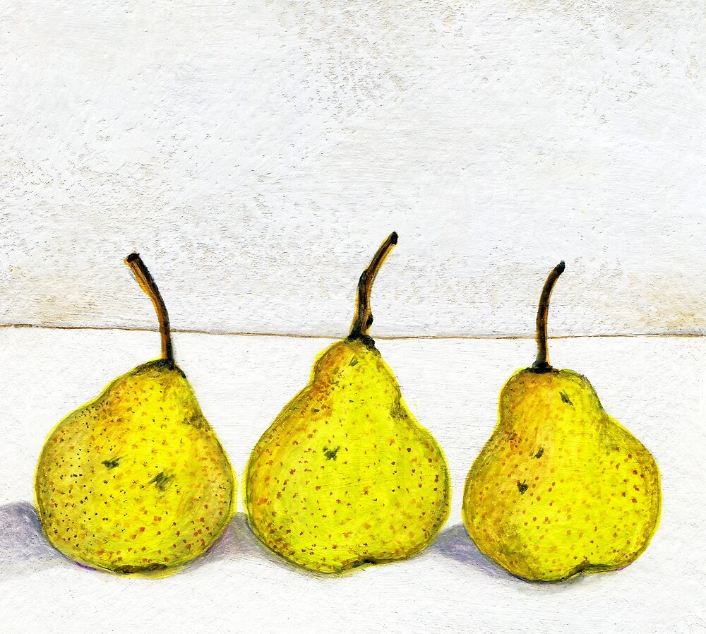 3 Pears by allybdesign
