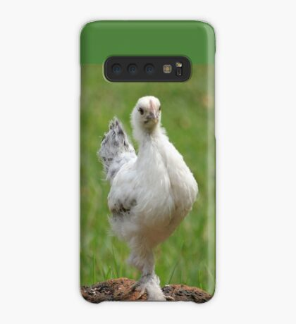 Farm talk - Snoodles, a chick with attitude! Case/Skin for Samsung Galaxy