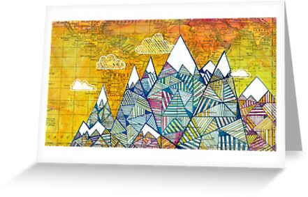Maps and Mountains by Madara Mason