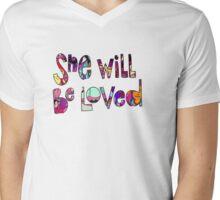 Maroon 5 Mens V-Neck T-Shirt