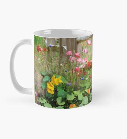 Nasturtium fields Mug