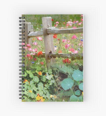 Nasturtium fields Spiral Notebook