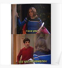 Wir sehen uns in der Chemie Poster