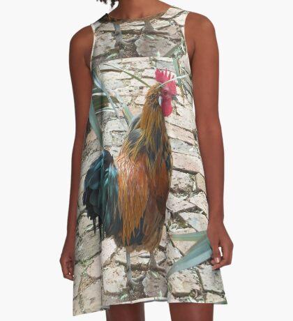 Farm talk - Half a beauty A-Line Dress