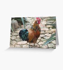 Farm talk - Half a beauty Greeting Card