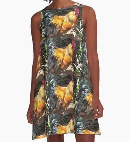 Farm talk - Artemis in glorious colour A-Line Dress