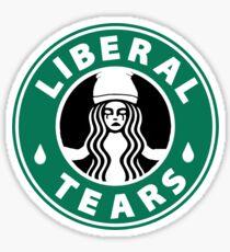 Liberal tears Coffee Sticker