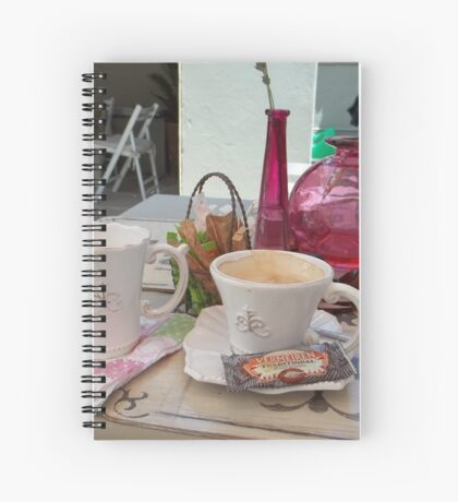 My daily fix at Bistrot de Paris and Une Belle-Vous Spiral Notebook