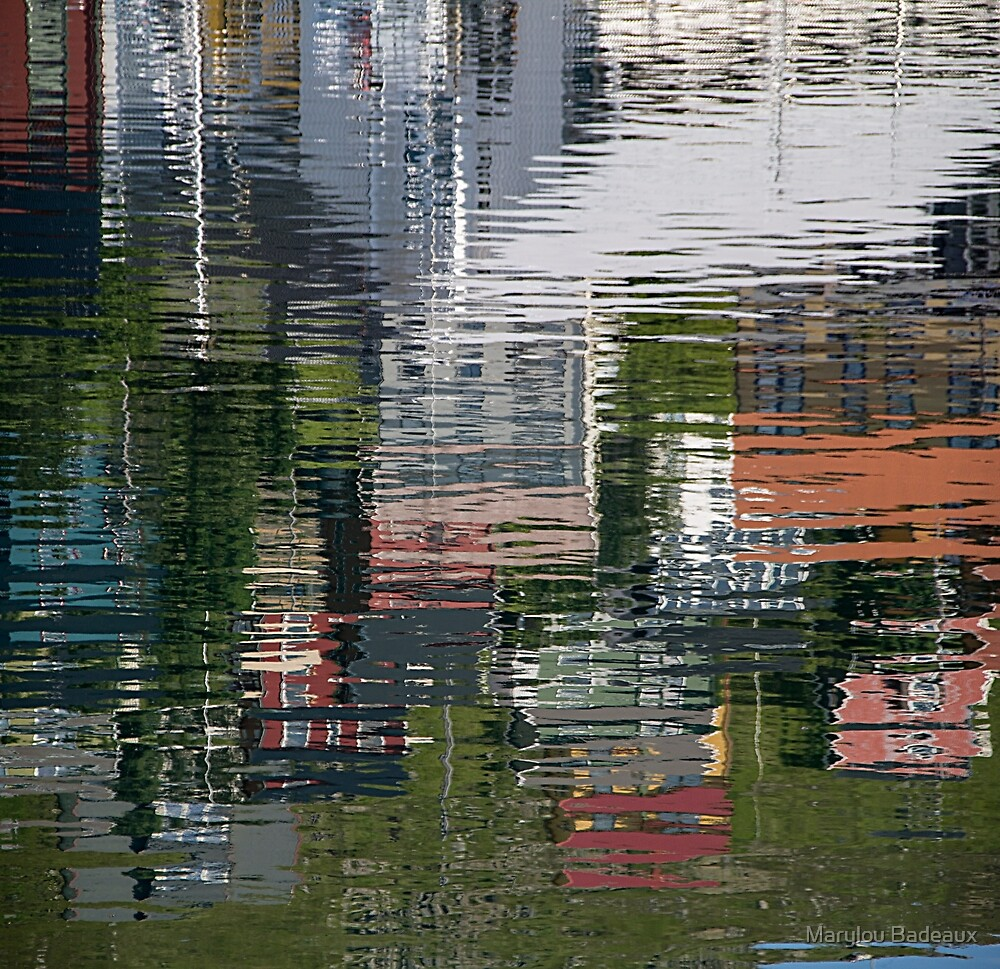 Water Reflection by Marylou Badeaux