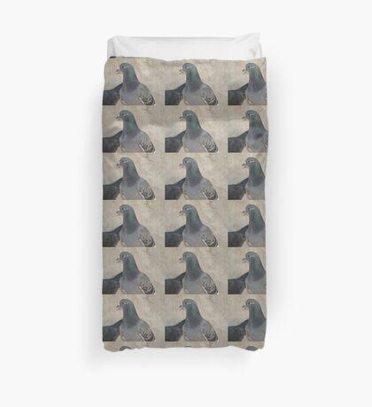 Mask - Love for Pigeons Duvet Cover