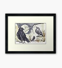 Call to the Crow... Framed Print