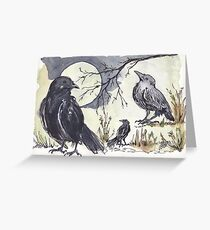 Call to the Crow... Greeting Card