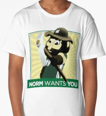 UNC Charlotte - Norm the Niner Long T-Shirt