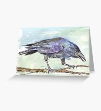 Crows are messengers - Coco Greeting Card
