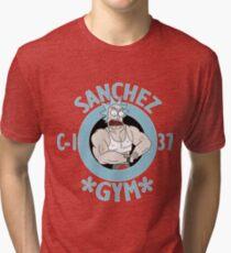 Rick sanchez gym  Tri-blend T-Shirt