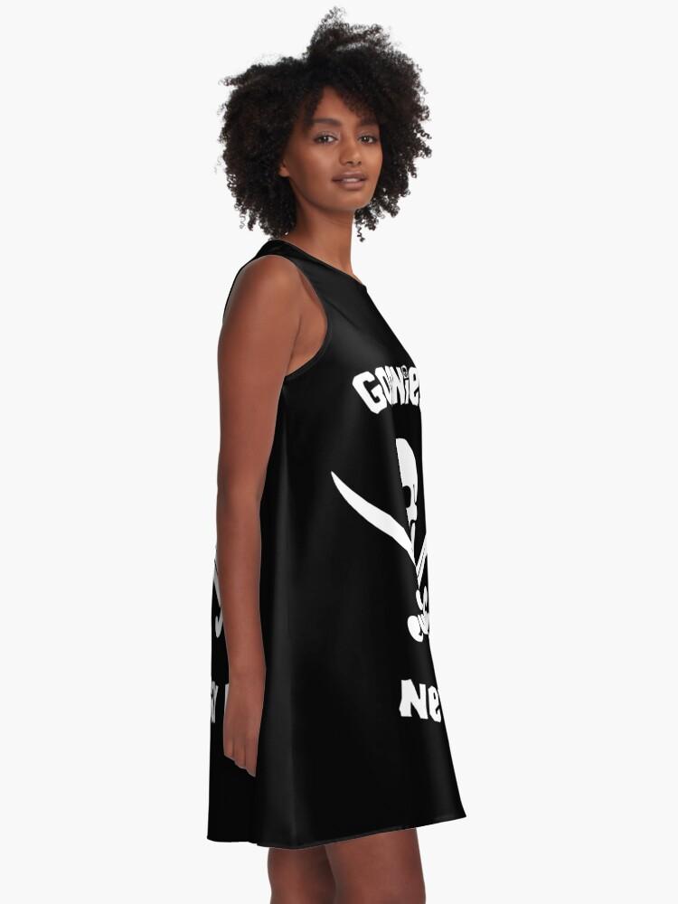 Alternative Ansicht von Goonies sagen nie sterben A-Linien Kleid