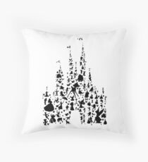 Happiest Castle On Earth Throw Pillow