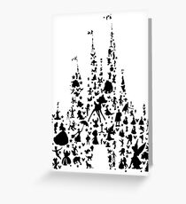 Happiest Castle On Earth Greeting Card