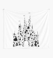 Happiest Castle On Earth Wall Tapestry