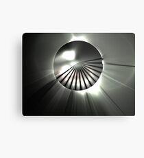 Gray Horizon Metal Print
