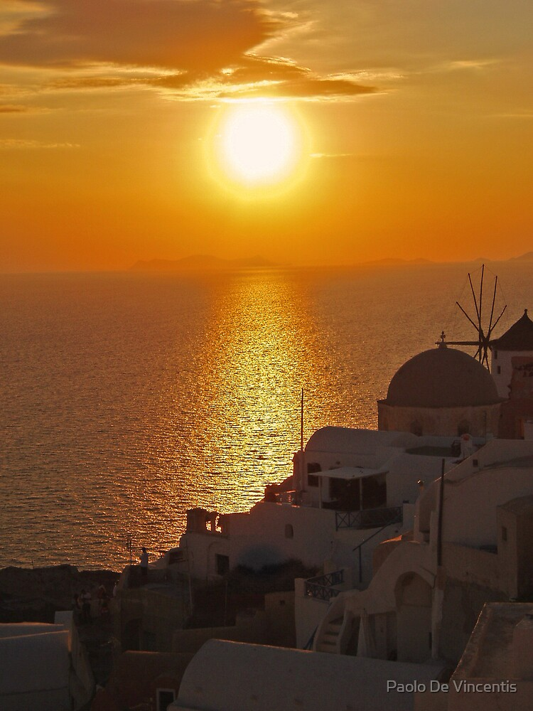 Another day in Santorini by Paolo De Vincentis