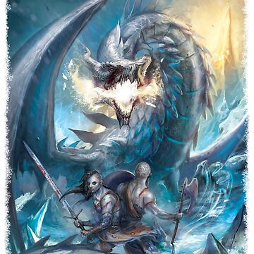 Ice Dragon vs. Vikings by SchwalbEnt